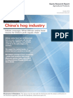 HSBC-Hog Industry in China