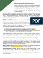 1 Contrato de Prestacion de Servicios Profesionales Fp-1