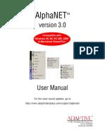 M AlphaNet Version 3 User Manual