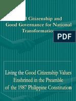 Good Governance for National Transformation