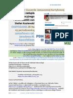 Dr Zuzannie Januszowej Kurtykowej M32 FO ZNAK zadupia cywilizacyjnego PDNIII SSetKh von Stefan Kosiewski ODzYDZANIE ZR 20191110 ME SOWA DEVYATOV.pdf