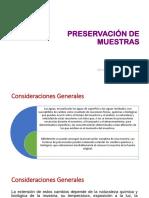 Capacitacion - Preservación de Muestras (Refrigeracion)