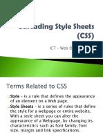 Lesson 12 CSS