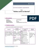 Bl-nc-dppii Guía de Foro de Debate y Argumentación 2019-II Penal