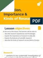Comparing Qualitative and Quantitative Research