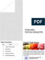 thailand textile industry