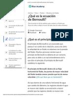 ¿Qué es la ecuación de Bernoulli_ (artículo) _ Khan Academy.pdf