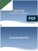 Case Study for Business Case Presentation1