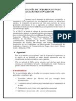 METODOLOGÍA DE DESARROLLO PARA APLICACIONES MÓVILES 6M