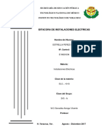 BITACORA INSTLACIONES ELECTRICAS