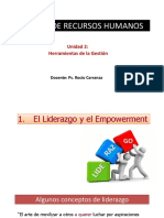 S9- El Liderazgo y Empowerment