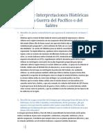 Análisis de Interpretaciones Históricas sobre la Guerra del Pacífico o del Salitre
