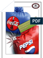 Comparative Analysis Of coke and pepsi