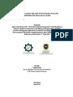 Sokhi Sketsa Kajian Islam Nusantara Symposium 27-6-2019