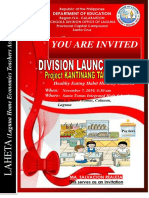 Invitation Launching of Honesty Canteen