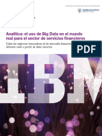 Big Data en el Sector Financiero