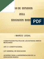 Programa de educaciòn  2011