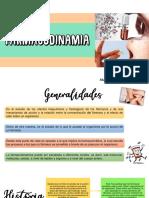 Generalidades farmacodinamia