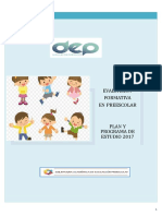 Evaluación Formativa en Preescolar