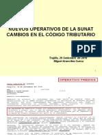 NUEVOS OPERATIVOS DE SUNAT