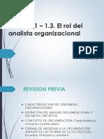 Unidad 1 - Rol Ao_2014 - Clase 2