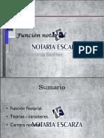 FUNCIÓN NOTARIAL
