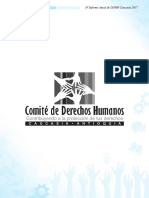 Cartilla Comite de Derechos Humanos 2017