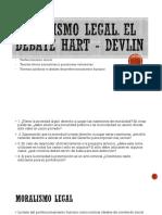 Moralismo Legal. Debate Hart - Devlin.