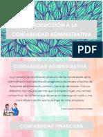 Introducción a La Contabilidad Administrativa
