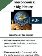 Chapter 6 - Macroeconomics Big Picture