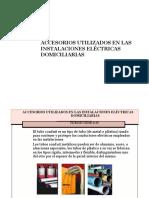 Accesorios Utilizados en La Instalacion Electrica
