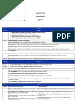 GeoIGF2019 Agenda