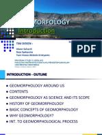 Geomorfologi Introduction