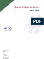 Modelo de Equidad de Género MEG:2003