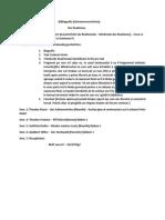 Bibliografie an II Sem. 1 ILG