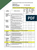Competency Framework for Southeast Asian School Heads Matrix