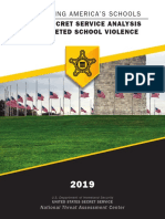 Usss Analysis of Targeted School Violence