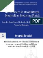 Introducere reabilitare medicală