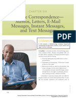 Chapter 6 _ Routine Correspondence