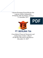 Consolidated Financial Statement BRNA Des 2017