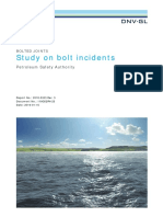 Bolted Joints Study on Bolt Incidents