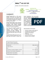 Primal Ac337 Emulsione Acrilica 890029 Tds