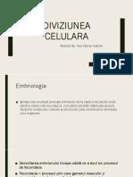 C1 - Introducere + Diviziune celulara