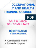 Basic Occupational Safety and Health