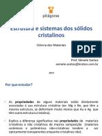Estrutura e Sistemas Cristalinos - QCM (1)