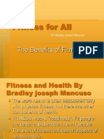 Bradley Joseph Mancuso - Lifetime Fitness Plan