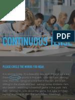 Present Continuous Tense (Grammar)