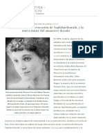 Florence Farr – The Evocation of Taphthartharath, and the New Woman of the Golden Dawn ⋆ Nettle's Garden - The Old Craft