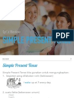 Simple Present Tense and Present Continuous Tense