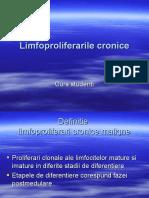 Limfoproliferarile Cronice 2018